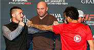 Ian McCall-John Lineker and Ed Herman-Derek Brunson were both previously scheduled bouts that had to be cancelled because of sickness. All four fighters are looking forward to this chance to make up for lost time at UFC 183.