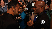 Nick Diaz, Anderson Silva, Kelvin Gastelum, Tyron Woodley, Al Iaquinta, and Joe Lauzon were among the fighters that spoke to the media at the UFC 183 Media Day. Hear from the fighters in these highlights.
