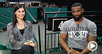 UFC correspondent Megan Olivi sits down with welterweight contender Tyron Woodley in this edition of One Round. Woodley touches on his support system, the welterweight landscape, and his mentality going into his fight against Kelvin Gastelum on Saturday.
