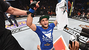 Megan Olivi catches up with John Lineker after his huge win over Ian McCall at UFC 183.