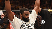 After a decision victory over Kelvin Gastelum, Tyron Woodley talks about the fight inside the Octagon with Joe Rogan.