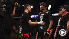 UFC 183: Anderson Silva and Nick Diaz Octagon Interview