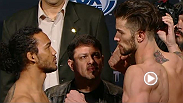 Watch the official weigh-in for UFC Fight Night: Henderson vs. Thatch.