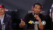 Watch the UFC Fight Night: Broomfield: Benson Henderson vs. Brandon Thatch post-fight press conference.