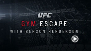 "When former UFC lightweight champion Benson Henderson isn't training, he likes to dive into the world of comic books. Find out which ones he likes in this edition of ""Gym Escape,"" and don't miss his move to 170 pounds vs. Brandon Thatch in Broomfield."