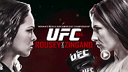 Ronda Rousey faces arguably her toughest challenger to date when she meets Cat Zingano in the main event of UFC 184. Also, UFC women's bantamweight debutant Holly Holm faces Raquel Pennington in the co-main event.