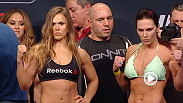 Watch the official weigh-in for UFC 184: Rousey vs. Zingano
