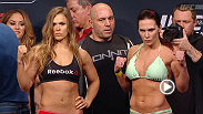 Watch the official weigh-in for UFC 184: Rousey vs. Zingano, live Friday, February 27 at Midnight GMT