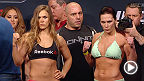 Watch the official weigh-in for UFC 184: Rousey vs. Zingano, live Friday, February 27 at 1am CET