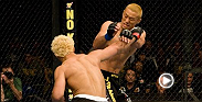 UFC veteran Josh Koscheck lands two powerful right hands to Yoshiuki Yoshida, ending the night in the first round. Koscheck takes on dangergous welterweight Jake Ellenberger at UFC 184 in Los Angeles.