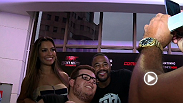 UFC Interim heavyweight champion Fabricio Werdum, former UFC light heavyweight champion Rashad Evans, and a few UFC Octagon girls appeared at a fan event ahead of Fight Night Porto Alegre.