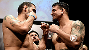 Check out the highlights from Bigfoot Silva, Frank Mir, and the rest of the fighters from the Fight Night Porto Alegre weigh-ins that went down on Saturday.