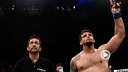 Former UFC heavyweight champion Frank Mir talks about his performance against Bigfoot Silva inside the octagon after the main event bout of Fight Night Porto Alegre.