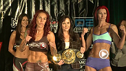 Watch the official weigh-in for Invicta FC 11