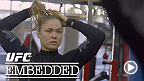 Ronda Rousey loads up on cardio and inspiration at Glendale Fighting Club. Jake Ellenberger also trains there alongside Hollywood's own boxing star, Mickey Rourke, while his opponent Josh Koscheck prepares in Fresno for his Octagon return.