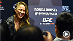 UFC women's bantamweight champion Ronda Rousey reflects on her journey from Olympian to star inside the Octagon. Rousey puts her undefeated record and UFC title on the line against Cat Zingano at UFC 184 in Los Angeles.
