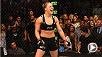 UFC Minute host Lisa Foiles looks back at Ronda Rousey's record-breaking weekend and the slate of fights coming your way on March 14 at UFC 185.