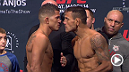 Watch the official weigh-in for UFC 185: Pettis vs. Dos Anjos live Friday, March 13 at 10pm CET.