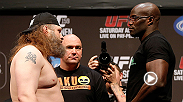 "No. 8 heavyweight Roy ""Big Country"" Nelson does what he does best against Cheick Kongo, earning himself a knockout victory in the first round. Nelson battles hard-hitting Alistair Overeem on the main card at UFC 185 in Dallas, Texas."