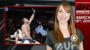 UFC Minute host Lisa Foiles looks back at UFC 185, where both the lightweight and strawweight titles changes hands, and details the UFC 189 World Championship Tour.