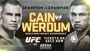 There can only be one heavyweight champion - heavyweight champ Cain Velasquez and interim champ Fabricio Werdum head to Mexico to find out who reigns at the top. Tickets are on sale now!