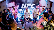 Check out a recap of the UFC Fight Night: Maia vs. LaFlare media day highlights taking place in Rio de Janeiro, Brazil.