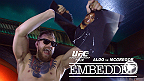 Jose Aldo has the home court advantage on the trip's first stop in Rio De Janeiro. But Conor McGregor makes the city his own, disrespecting the champion at a press conference and riling up the crowd at a local pub.