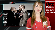 UFC Minute host recaps the results of Fight Night Rio and gives you all the information you need to know for the UFC 189 World Championship Tour.