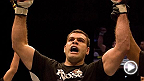 No. 14 heavyweight contender Gabriel Gonzaga fakes a kick and lands a huge superman punch to Kevin Jordan, stunning him and ending the night in the third round. Gonzaga takes on Mirko Cro Cop in the main event at UFC Fight Night Krakow.