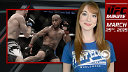 UFC Minute host Lisa Foiles runs down all the big news of the day, including TJ Dillashaw's rib injury and the continuation of the UFC 189 World Championship Tour.