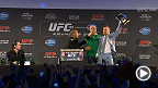 Watch the UFC 189 World Tour press conference in Dublin, Ireland, live Wednesday, April 1 at 4am AEDT.