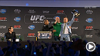 Watch the UFC 189 World Tour press conference in Dublin, Ireland, live Wednesday, April 1 at 6am NZDT.