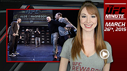 The UFC 189 World Championship Tour continues, and UFC Minute host Lisa Foiles runs down what content is available from the latest stop on the circuit: Boston.