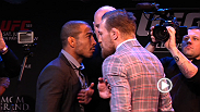 Watch the full replay of the press conference from Boston on the UFC 189 World Championship Tour, featuring Jose Aldo, Conor McGregor, and Dana White.