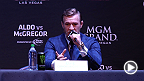 UFC 189 headliners Jose Aldo and Conor McGregor are joined by co-main event stars Robbie Lawler and Rory MacDonald in New York City for a press conference. See what went down between the fighters as the talking continues.