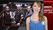 UFC Minute host Lisa Foiles runs down the latest stop on the UFC 189 World Championship Tour in New York, featuring Conor McGregor, Jose Aldo, Rory MacDonald, and Robbie Lawler.