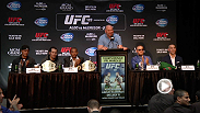 Conor McGregor, Jose Aldo, Rory MacDonald, and Robbie Lawler answered questions at the Toronto press conference in yet another stop on the UFC 189 World Championship Tour.
