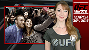 UFC Minute host Lisa Foiles gets you caught up on everything happening on the UFC 189 World Championship Tour.