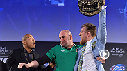 The UFC® 189 World Championship Tour concludes in Dublin, Ireland with a fan Q&A session at Convention Centre Dublin with UFC President Dana White, UFC featherweight champion Jose Aldo and Dublin's own Conor McGregor.