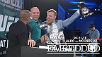 UFC 189 World Championship Tour makes its final stop in Dublin. With the strong Irish presence, top featherweight contender Conor McGregor dares to take the belt from reigning champ Jose Aldo -- at least momentarily -- at a raucous press conference.