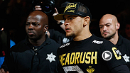 UFC lightweight Dustin Poirier talks about his decision to move up a weight class from 145 to try his luck at 155. Poirier faces Diego Ferreira at Fight Night Fairfax.