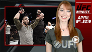 UFC Minute host Lisa Foiles gets you caught up on Fight Night Fairfax and looks ahead to the premiere of The Ultimate Fighter Brazil: Season 4.