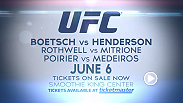 "Middleweights Tim ""The Barbarian"" Boetsch and Dan ""Hendo"" Henderson clash in the main event at UFC Fight Night inside the Smoothie King Center in New Orleans, Louisiana. Tickets are on sale now!"