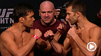Watch the official weigh-in for UFC Fight Night: Machida vs. Rockhold, live Saturday, April 18 at 6am AEST.