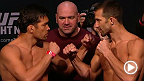 Watch the official weigh-in for UFC Fight Night: Machida vs. Rockhold, live Saturday, April 18 at 8am NZST.