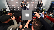 UFC Fight Night Ultimate Media Day inside the TAURON Arena on April 8, 2015 in Krakow, Poland. (Photos by Jeff Bottari/Zuffa LLC/Zuffa LLC via Getty Images)