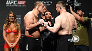 Watch the highlights from the Fight Night Krakow weigh-ins, including the staredowns between Mirko Cro Cop and Gabriel Gonzaga and Jan Blachowicz and Jimi Manuwa. The event takes place on Saturday exclusively on UFC FIGHT PASS.
