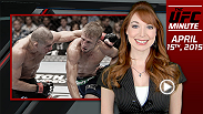 UFC Minute host Lisa Foiles runs down three big fights that were announced on Tuesday for Fight Night Chicago in July.