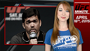 UFC Minute host Lisa Foiles talks about Fight Night New Jersey Open Workouts and co-main event fighter Chris Camozzi in today's episode.