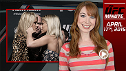 UFC Minute host Lisa Foiles runs down what went down at Ultimate Media Day for Fight Night New Jersey.